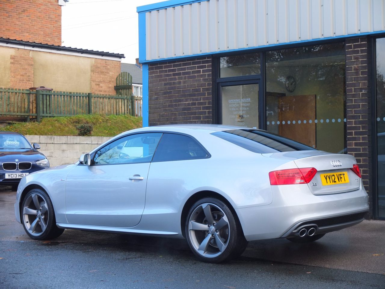 Audi A5 Coupe 2.0 TDI 177 Black Edition Coupe Diesel Ice Silver Metallic
