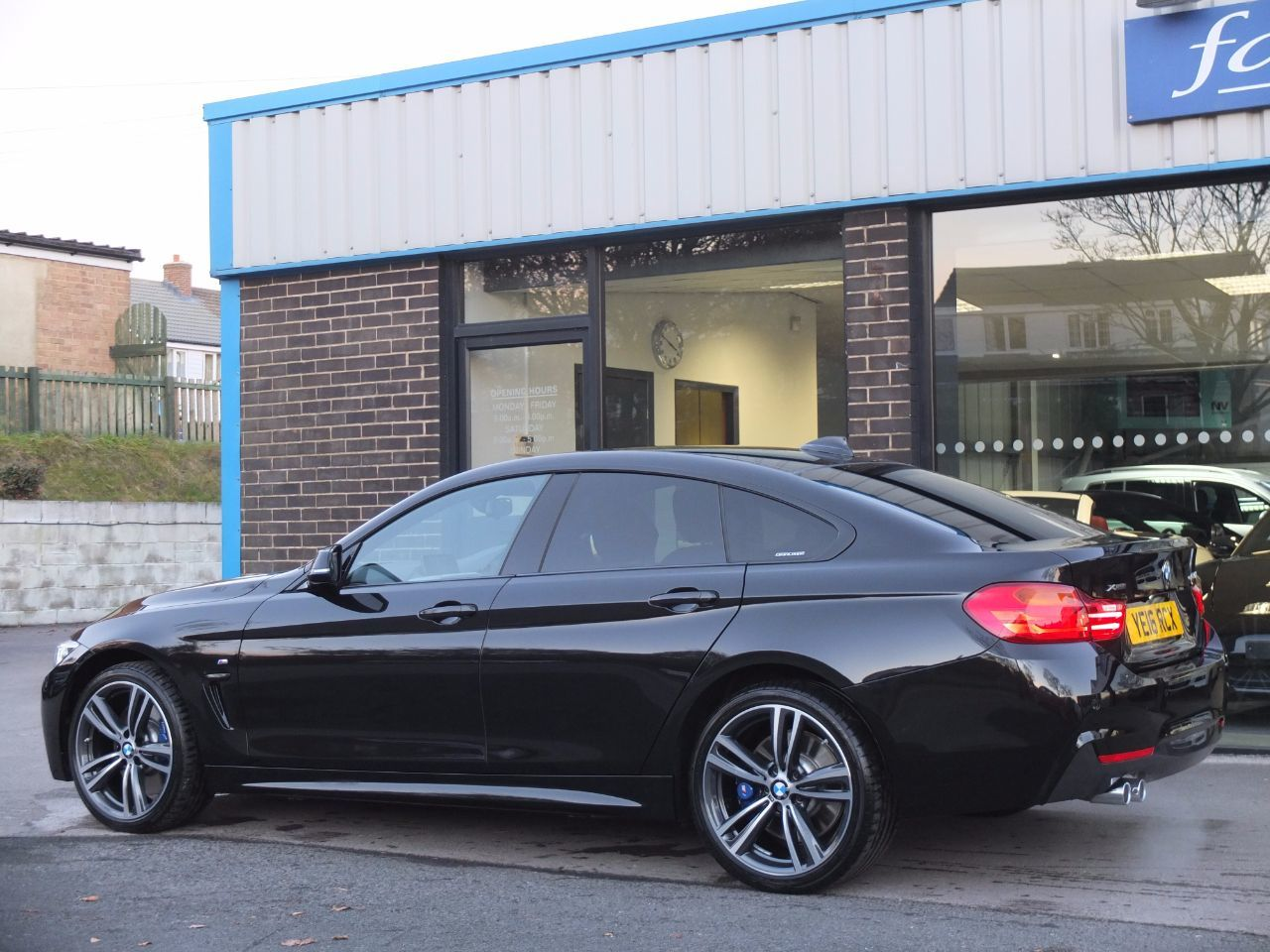 second hand bmw 4 series gran coupe 435d xdrive m sport plus pack auto for sale in bradford. Black Bedroom Furniture Sets. Home Design Ideas