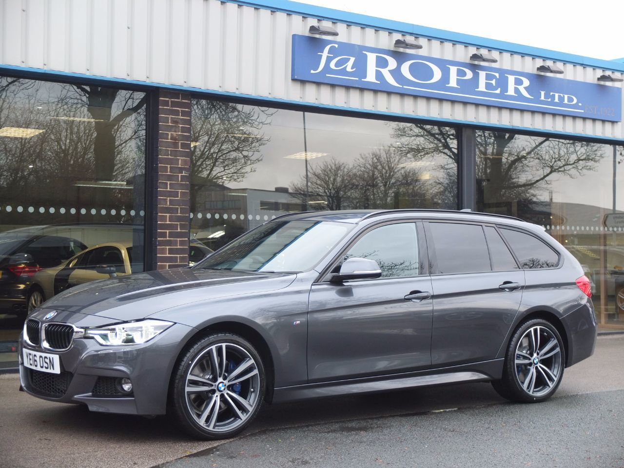 BMW 3 Series 2.0 320d xDrive M Sport Plus Pack Touring Auto 190ps Estate Diesel Mineral Grey Metallic