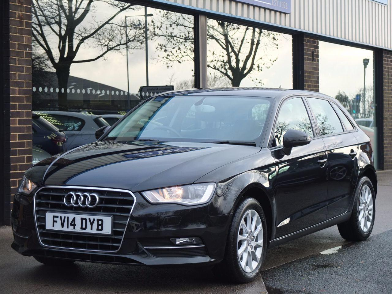 Audi A3 1.6 TDI SE Sportback NAV 6 Speed Hatchback Diesel Phantom Black Metallic
