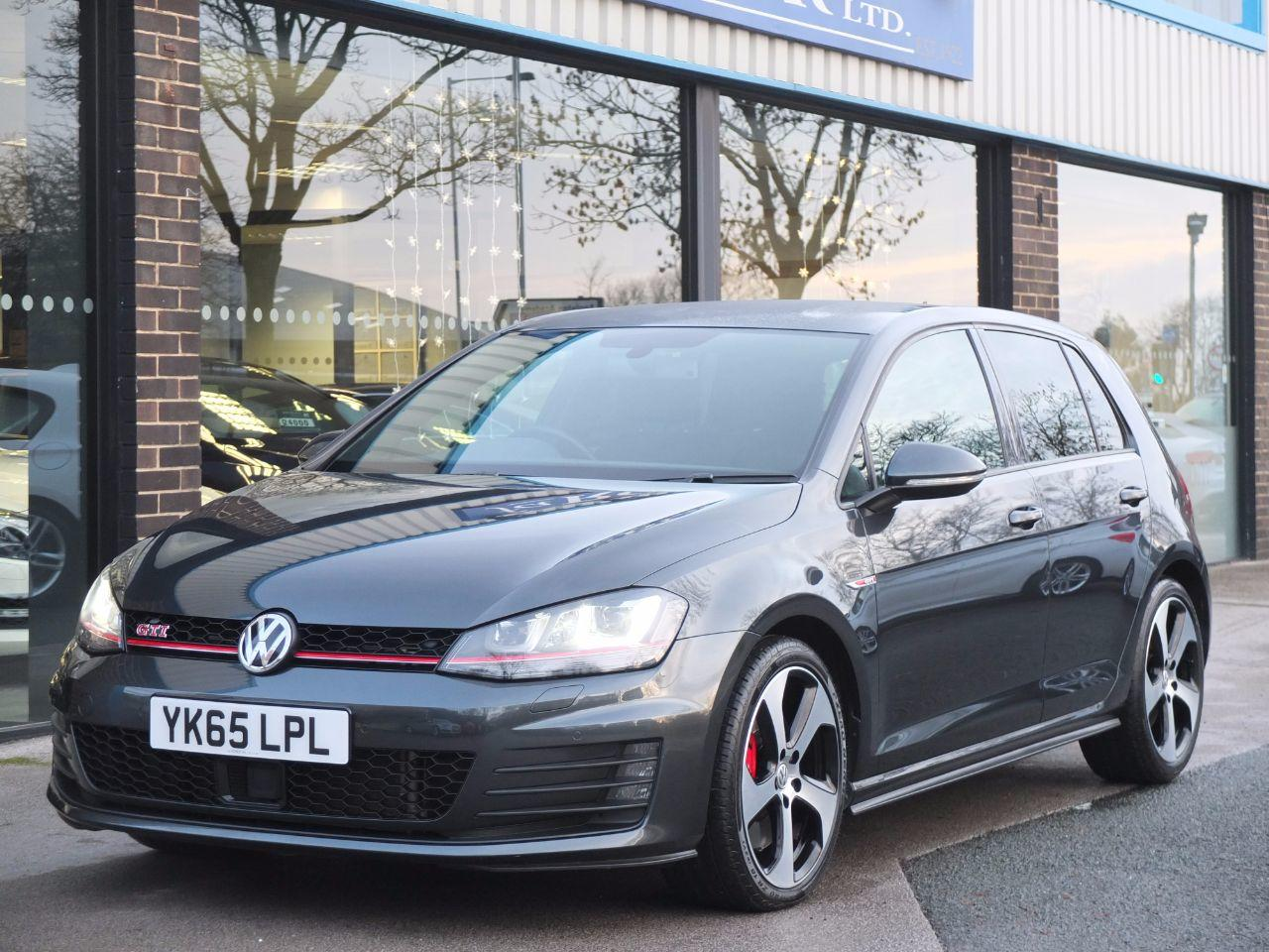 Volkswagen Golf 2.0 TSI GTI 5 door DSG [Performance Pack 230ps] Hatchback Petrol Carbon Grey MetallicVolkswagen Golf 2.0 TSI GTI 5 door DSG [Performance Pack 230ps] Hatchback Petrol Carbon Grey Metallic at fa Roper Ltd Bradford