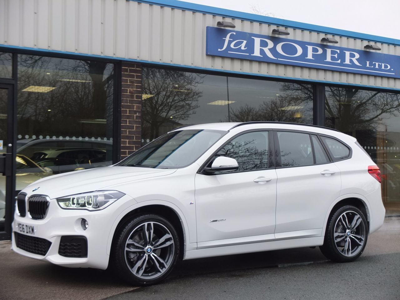 used bmw x1 xdrive 20d m sport auto for sale in bradford west yorkshire fa roper ltd. Black Bedroom Furniture Sets. Home Design Ideas