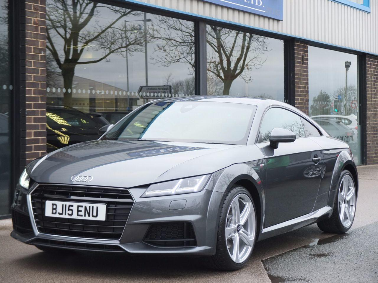 Audi TT Coupe 2.0T FSI S Line 230ps Coupe Petrol Daytona Grey MetallicAudi TT Coupe 2.0T FSI S Line 230ps Coupe Petrol Daytona Grey Metallic at fa Roper Ltd Bradford