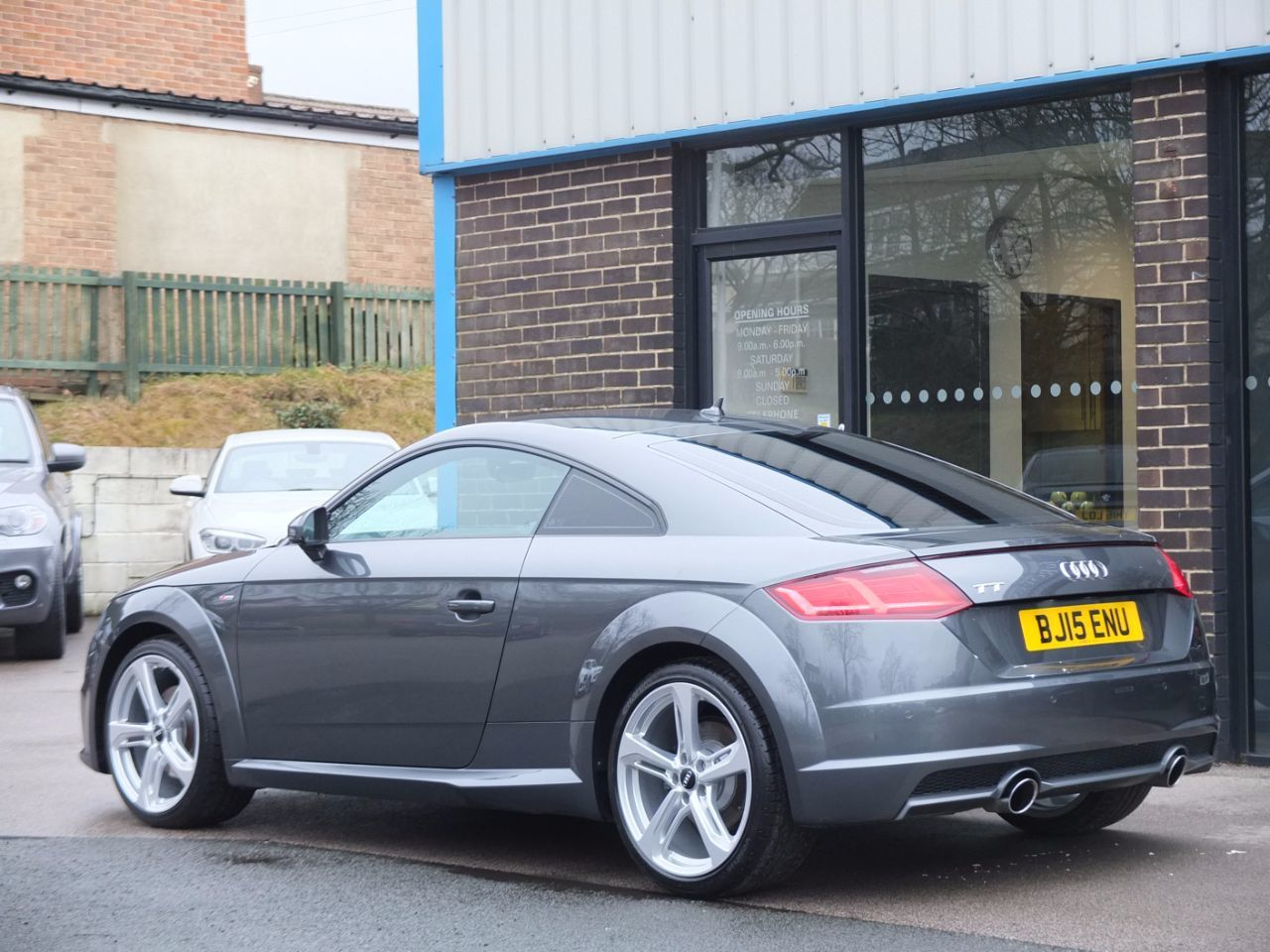 Audi TT Coupe 2.0T FSI S Line 230ps Coupe Petrol Daytona Grey Metallic