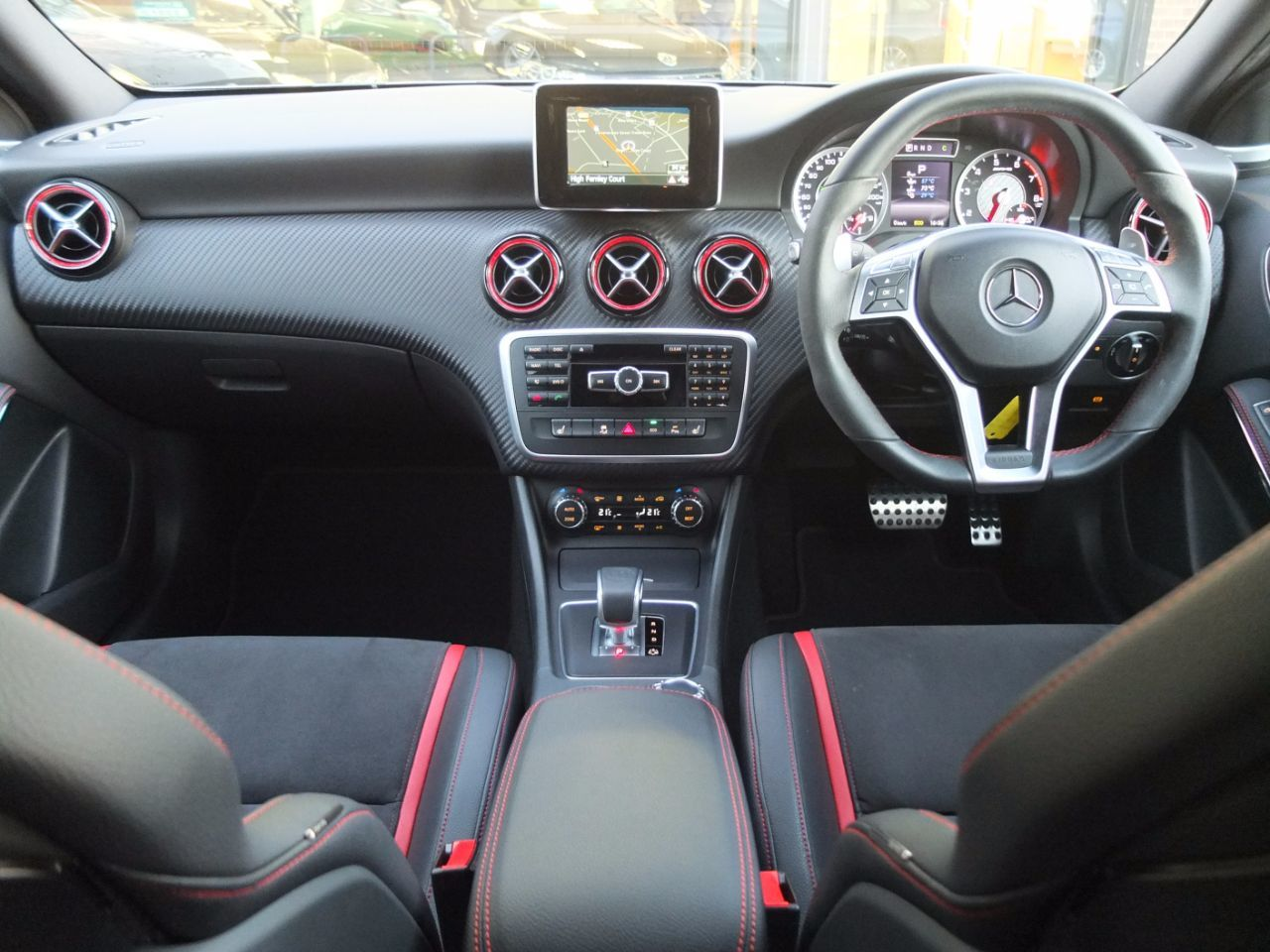 Mercedes-Benz A Class 2.0 A45 AMG 4-MATIC 7G-DCT Hatchback Petrol Mountain Grey Metallic