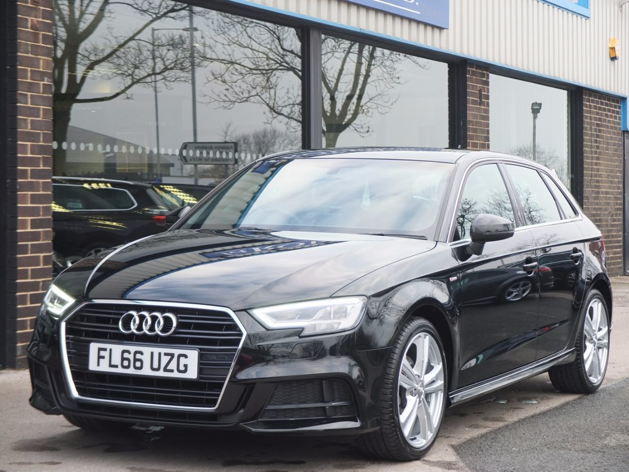 Audi A3 Sportback 1.4 TFSI S Line (Cylinder on Demand) Hatchback Petrol BlackAudi A3 Sportback 1.4 TFSI S Line (Cylinder on Demand) Hatchback Petrol Black at fa Roper Ltd Bradford