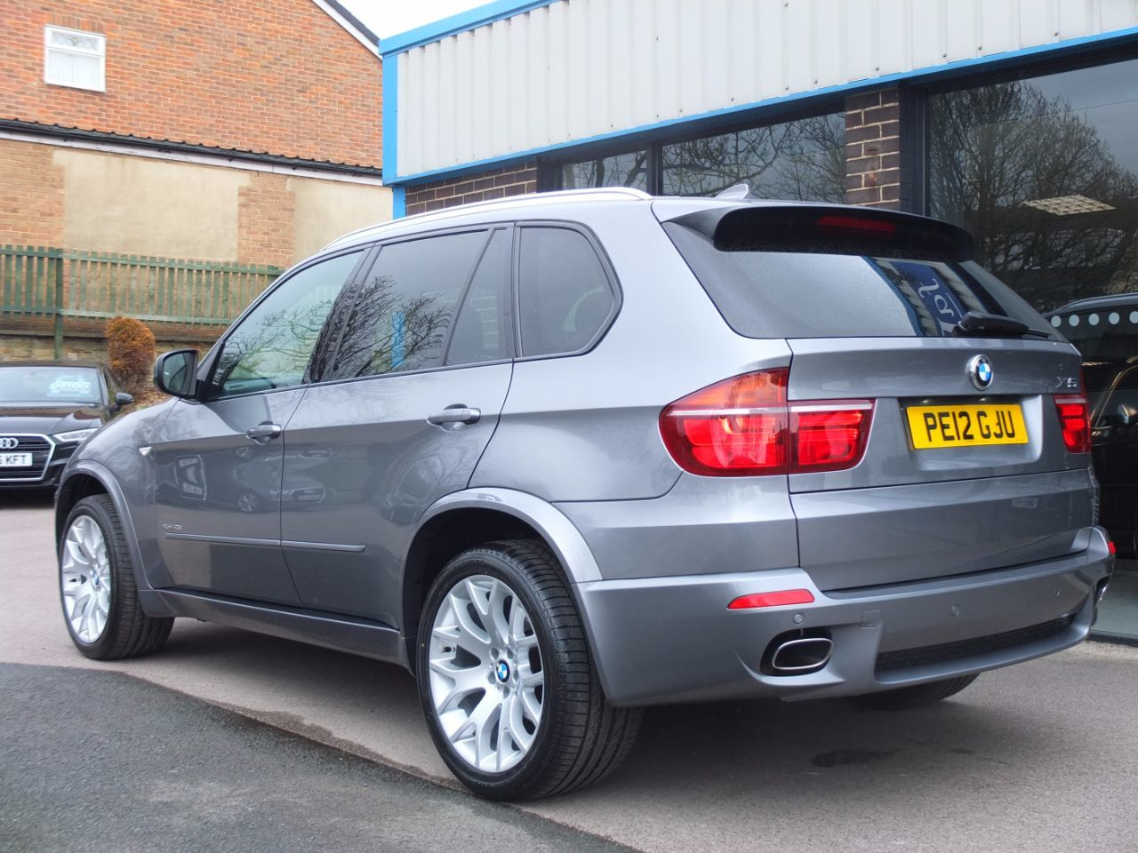 BMW X5 3.0 xDrive40d M-Sport Estate Diesel Space Grey Metallic