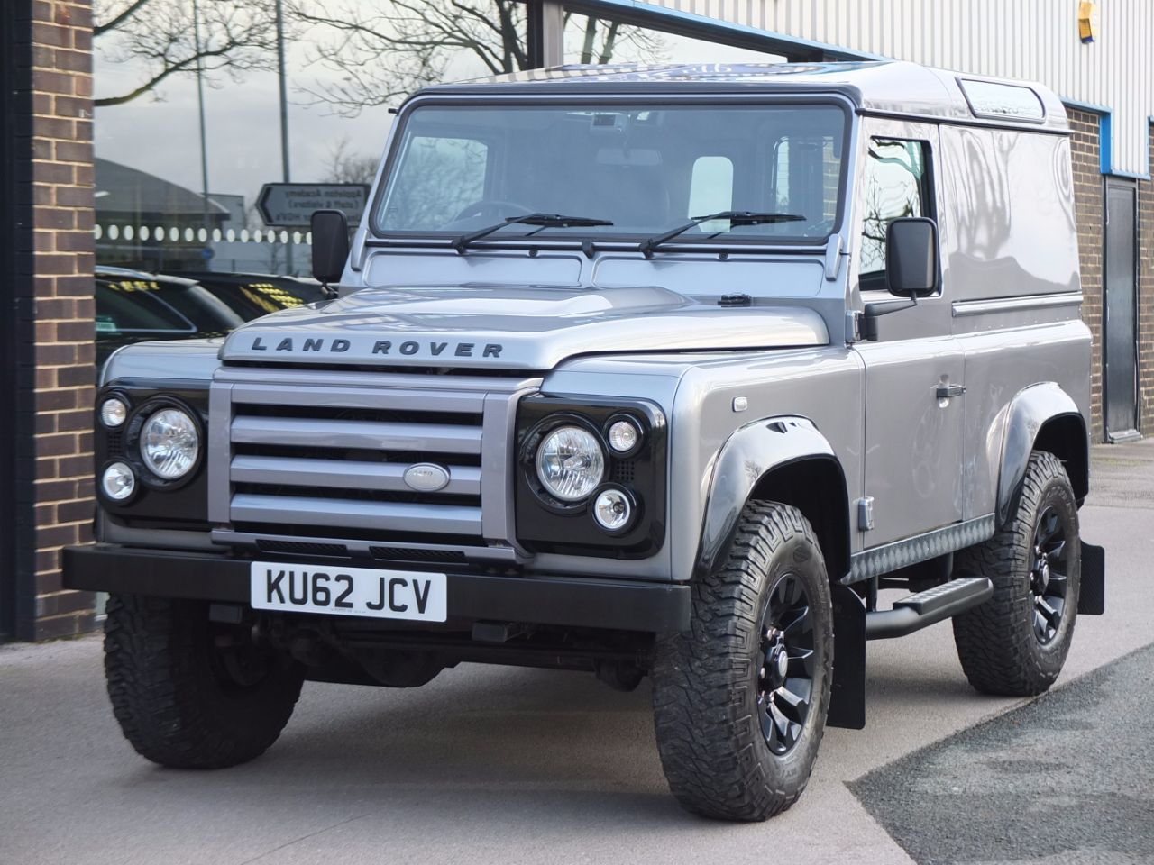 Land Rover Defender 90 2.2TD X-Tech Hard Top (£22750 Plus VAT) Four Wheel Drive Diesel Orkney Grey MetallicLand Rover Defender 90 2.2TD X-Tech Hard Top (£22750 Plus VAT) Four Wheel Drive Diesel Orkney Grey Metallic at fa Roper Ltd Bradford