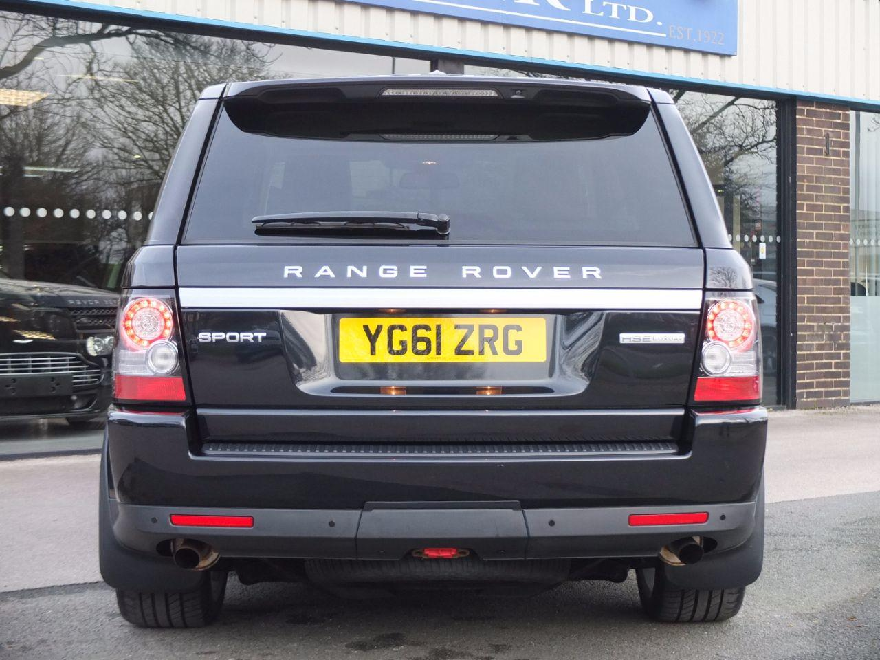Land Rover Range Rover Sport 3.0 SDV6 HSE Luxury Estate Diesel Sumatra Black Metallic