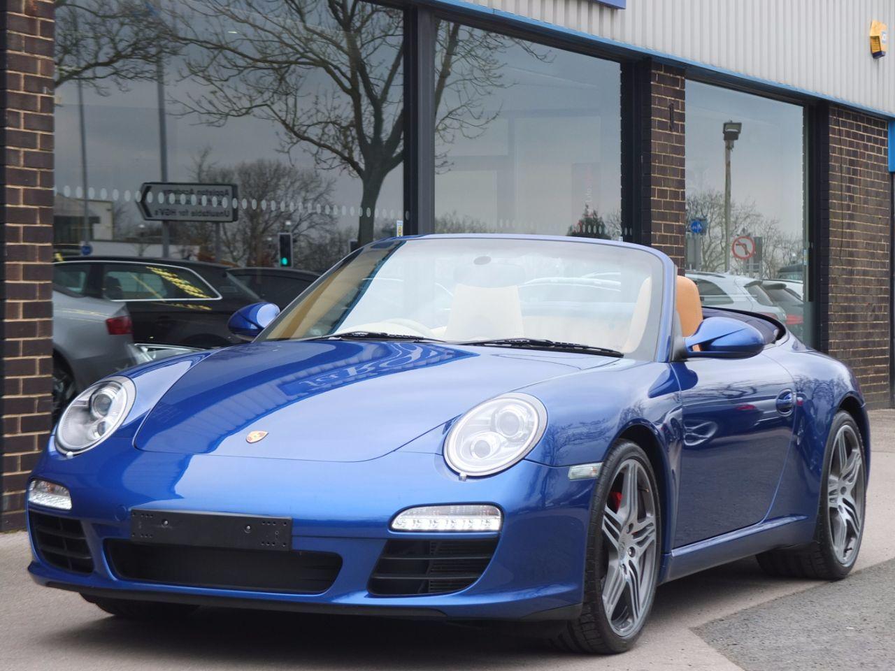 Porsche 911 Carrera 3.8 S Cabriolet (997 Gen II) Convertible Petrol Aqua  Blue MetallicPorsche