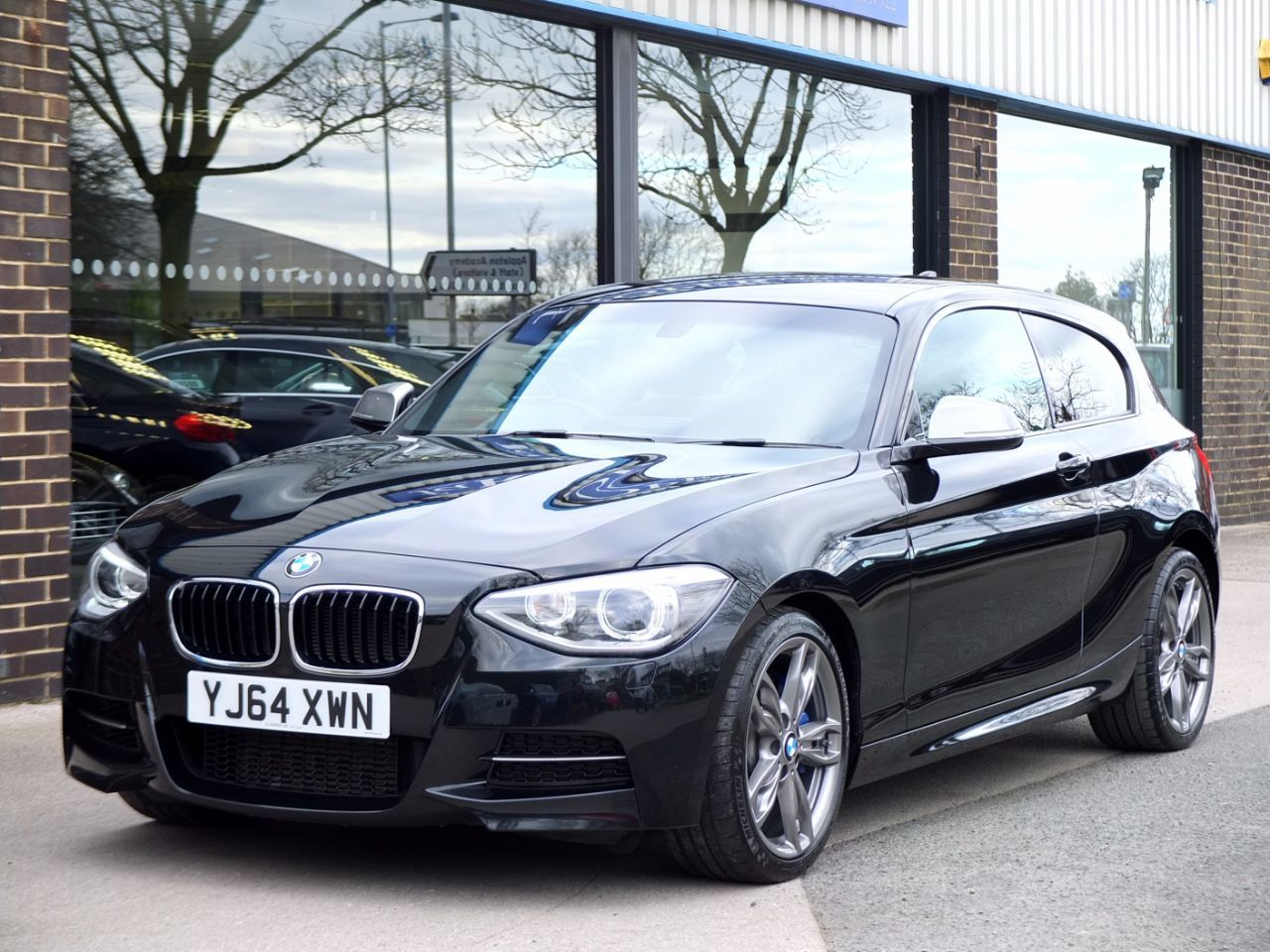 BMW 1 Series 3.0 M135i M Performance 3 door Auto Hatchback Petrol Black Sapphire MetallicBMW 1 Series 3.0 M135i M Performance 3 door Auto Hatchback Petrol Black Sapphire Metallic at fa Roper Ltd Bradford