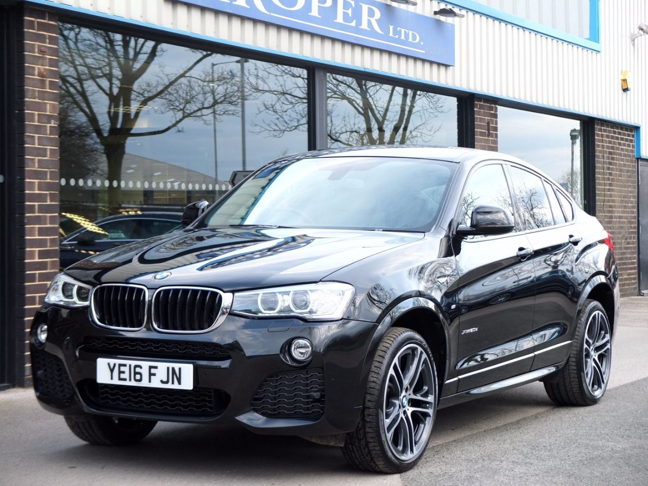 BMW X4 2.0 xDrive20d M Sport Plus Pack Auto Coupe Diesel Black Sapphire Metallic