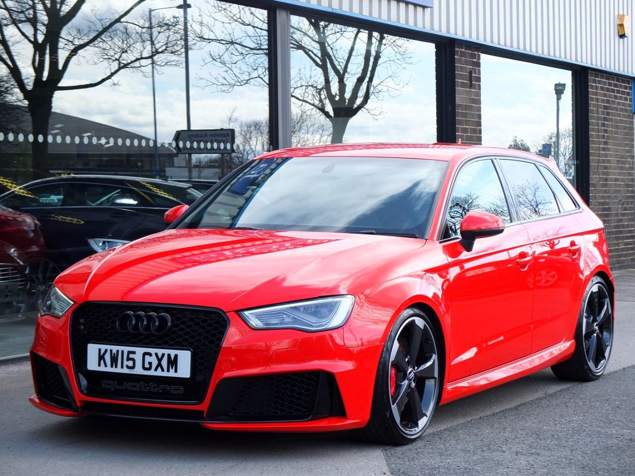second hand audi rs3 2 5 tfsi rs 3 quattro s tronic mrc 458bhp for sale in bradford west. Black Bedroom Furniture Sets. Home Design Ideas
