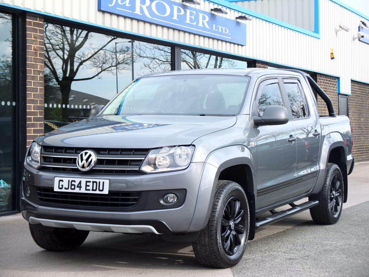 Volkswagen Amarok D/Cab Pick Up Dark Label 2.0 BiTDI 180 4Motion Auto Pick Up Diesel Natural Grey MetallicVolkswagen Amarok D/Cab Pick Up Dark Label 2.0 BiTDI 180 4Motion Auto Pick Up Diesel Natural Grey Metallic at fa Roper Ltd Bradford