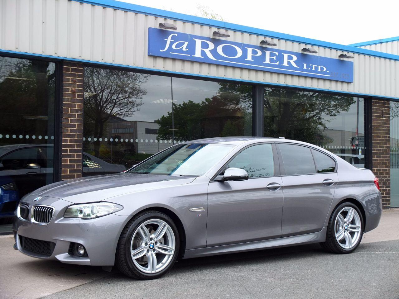 BMW 5 Series 2.0 520d [190] M Sport Plus Pack Auto Saloon Diesel Space Grey Metallic