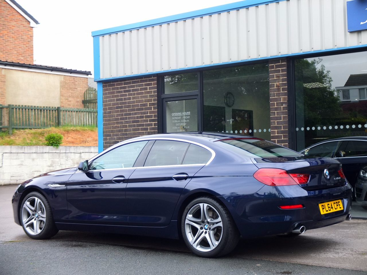 BMW 6 Series 3.0 640d SE Gran Coupe Individual Auto Coupe Diesel Tanzanite Blue Metallic