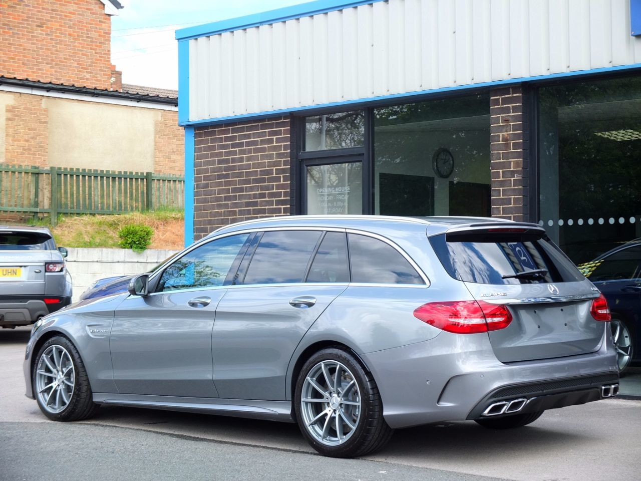 Mercedes-Benz C Class C63 AMG 4.0 V8 Twin Turbo Premium Estate Auto Estate Petrol Palladium Silver Metallic