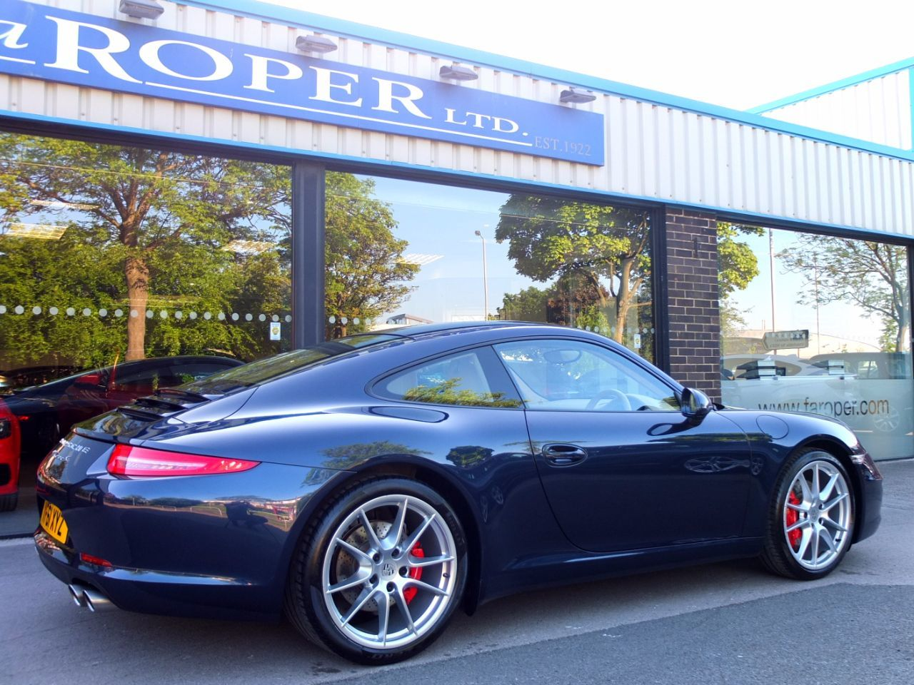 Porsche 911 991 Carrera 3.8 S Coupe Petrol Dark Blue Metallic