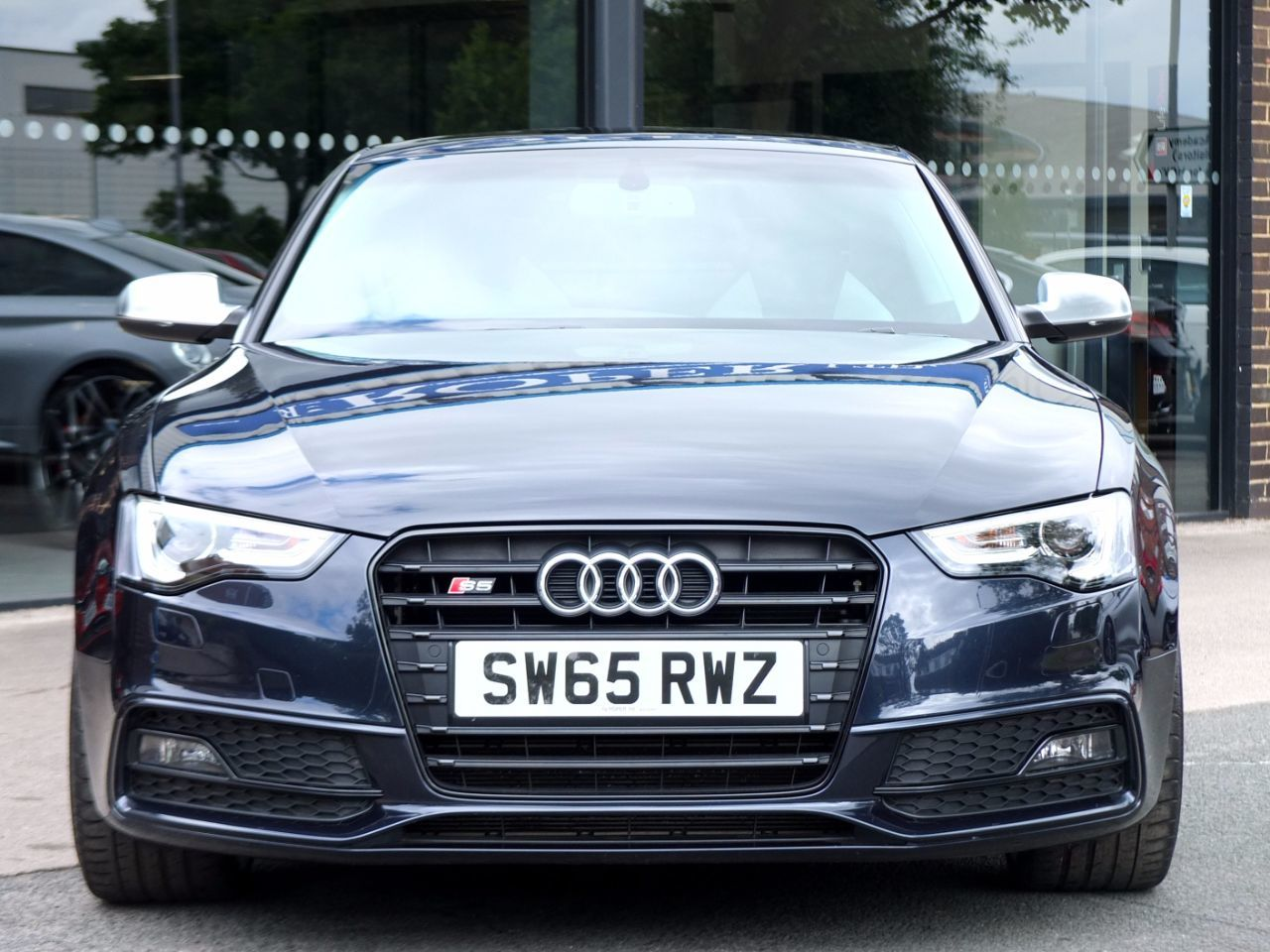 Audi A5 S5 3.0T FSI quattro Black Edition S tronic 333ps Coupe Petrol Moonlight Blue Metallic