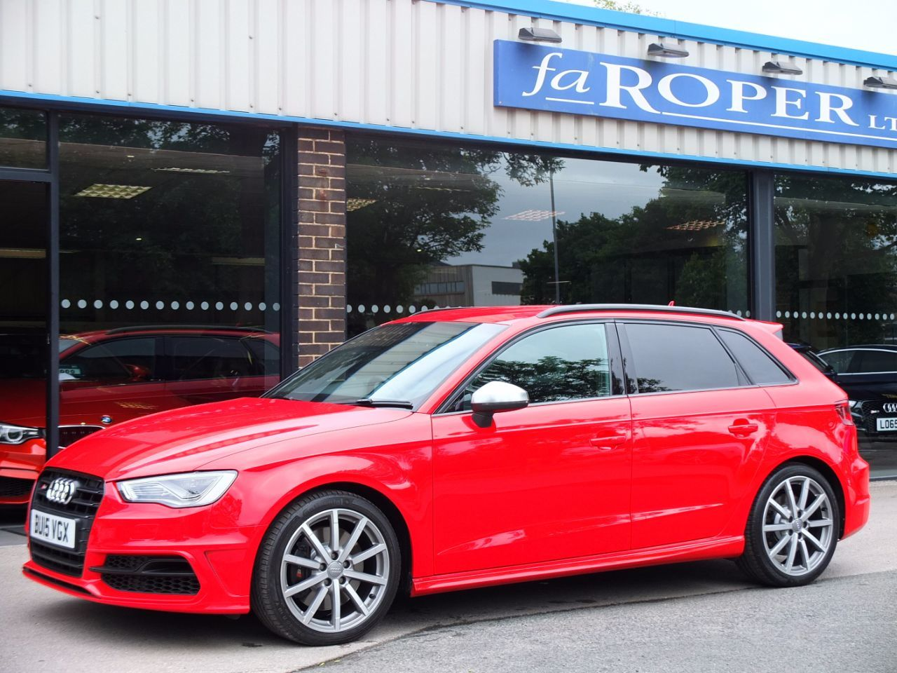 Audi A3 S3 Sportback 2.0 TFSI quattro S tronic Hatchback Petrol Misano Red Pearl