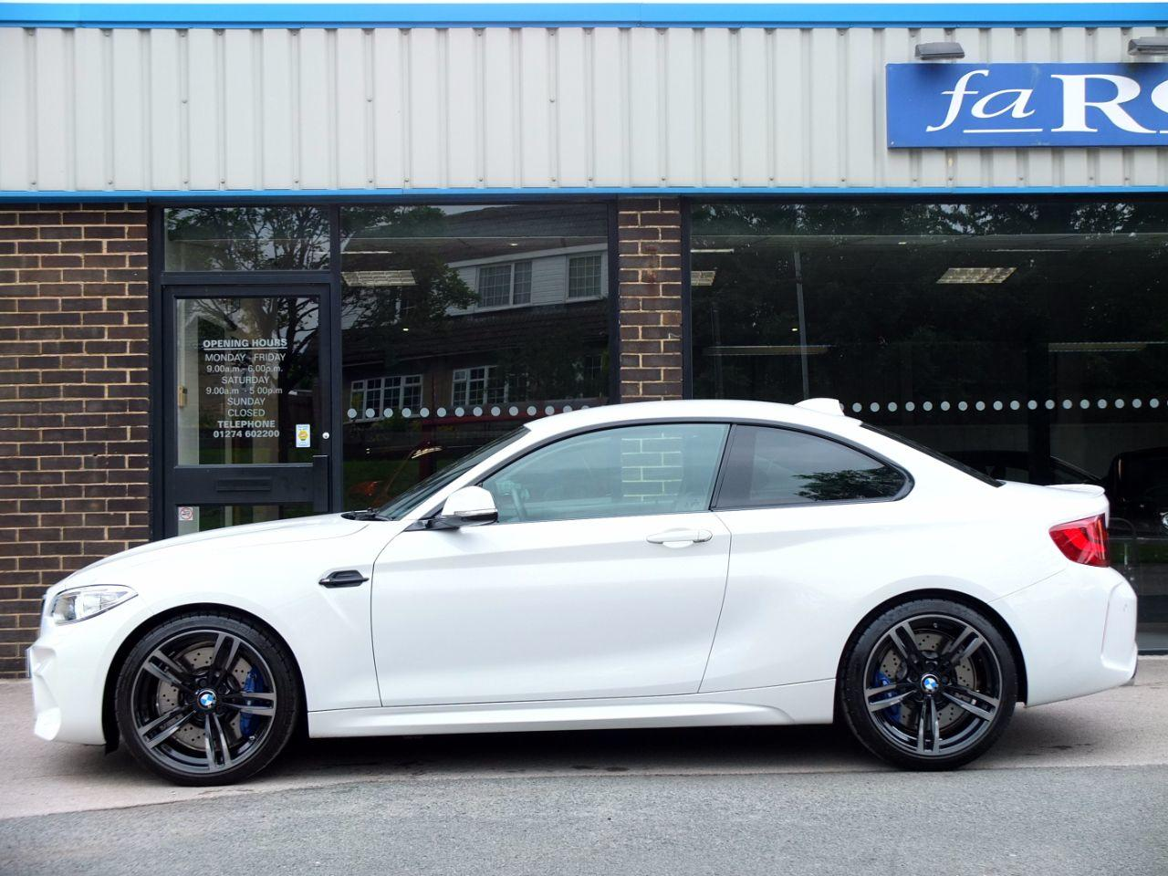 BMW M2 3.0 DCT Coupe Petrol Alpine White