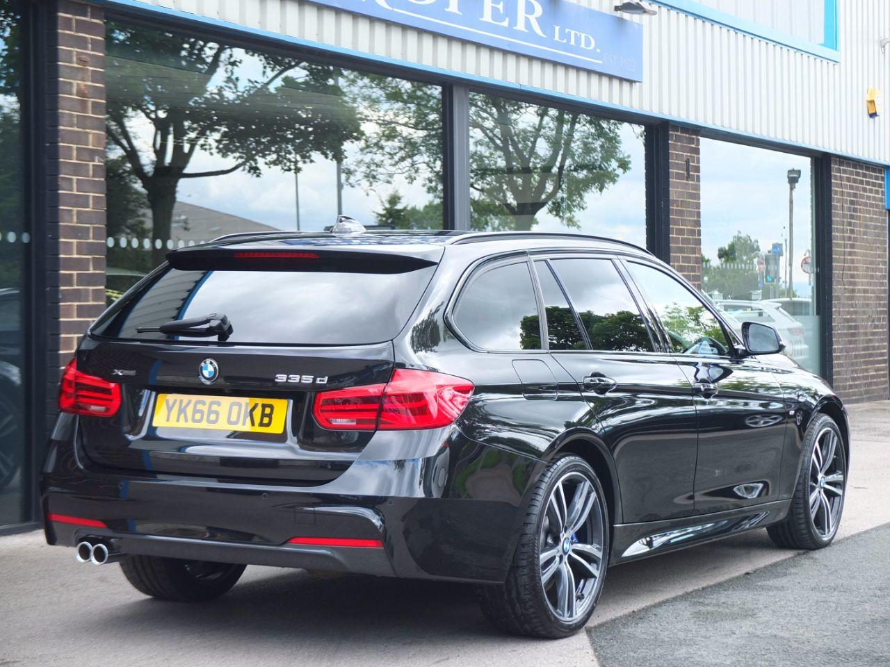 BMW 3 Series 3.0 335d xDrive M Sport Plus Touring Auto Estate Diesel Black Sapphire Metallic