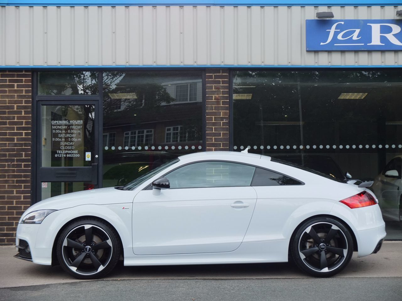 Audi TT 2.0T FSI quattro Black Edition S tronic Amplified Pack Coupe Petrol Glacier White Metallic