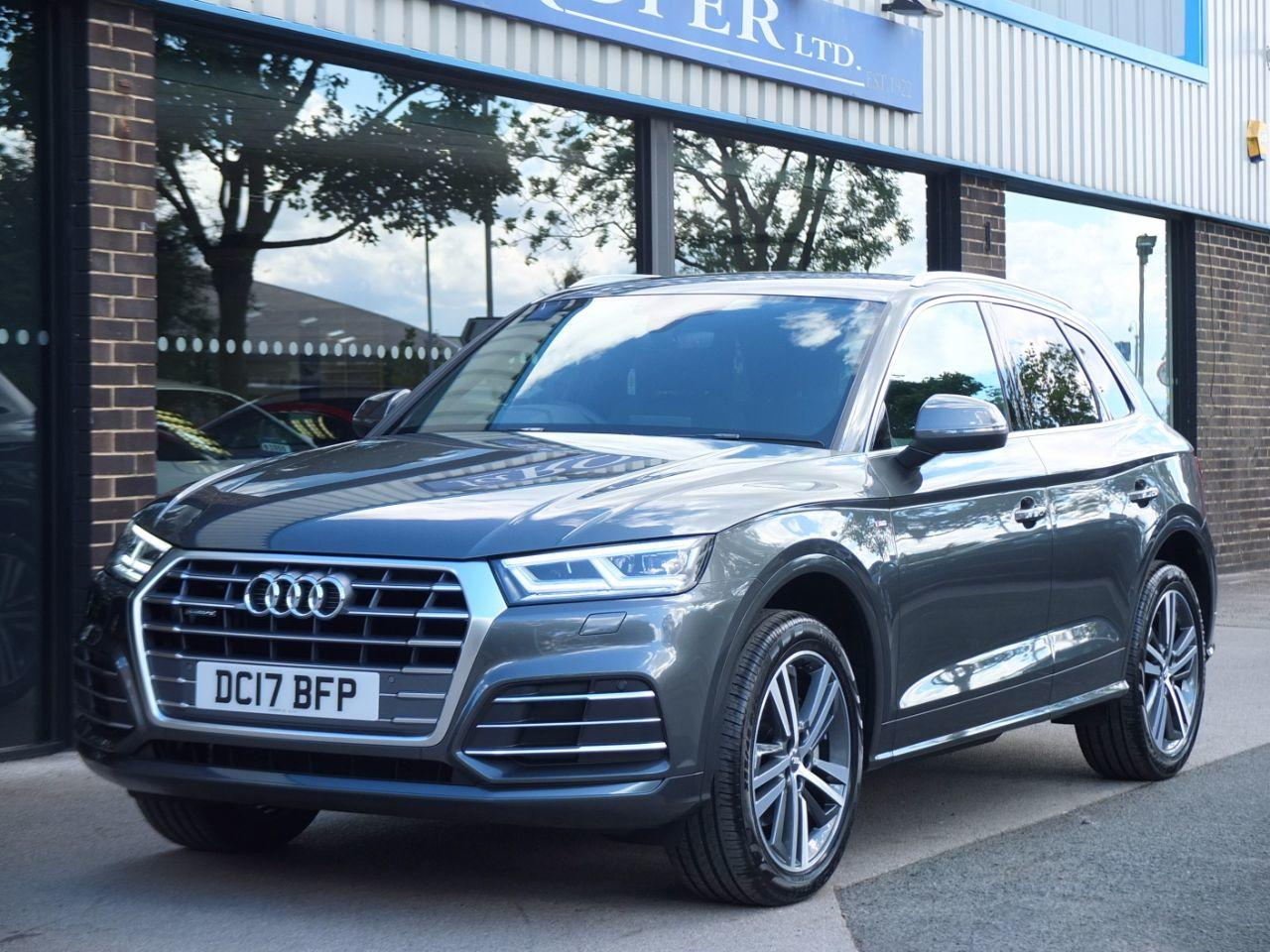 Audi Q5 2.0 TDI quattro S Line S tronic 190ps Estate Diesel Daytona Grey MetallicAudi Q5 2.0 TDI quattro S Line S tronic 190ps Estate Diesel Daytona Grey Metallic at fa Roper Ltd Bradford