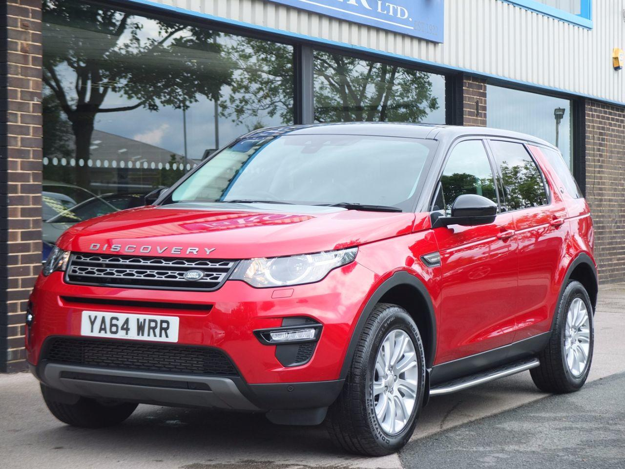 Land Rover Discovery Sport 2.2 SD4 SE Tech (Panoramic Roof) Estate Diesel Firenze RedLand Rover Discovery Sport 2.2 SD4 SE Tech (Panoramic Roof) Estate Diesel Firenze Red at fa Roper Ltd Bradford