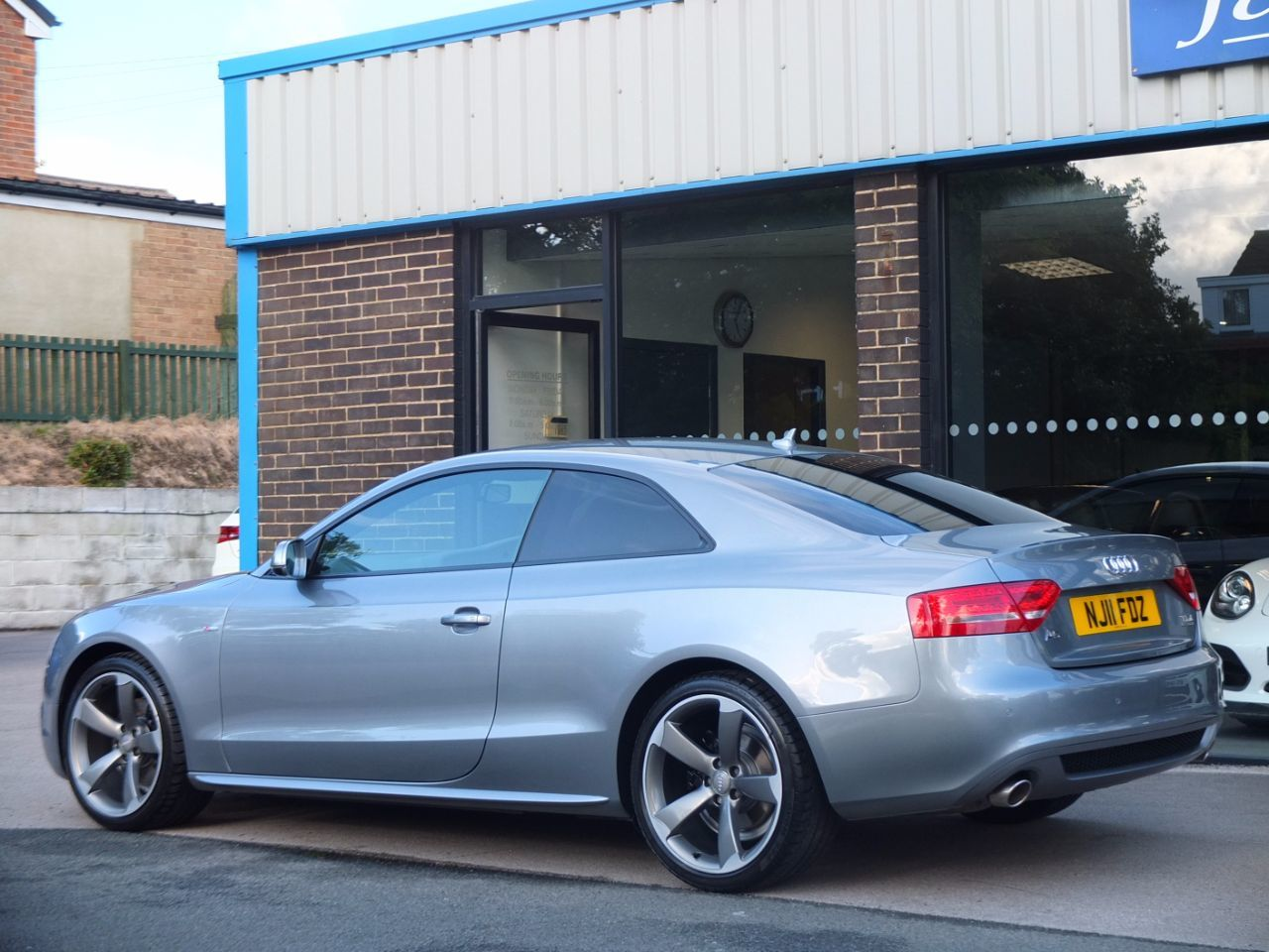 Audi A5 Coupe 3.0 TDI quattro Black Edition S Tronic Coupe Diesel Quartz Grey Metallic
