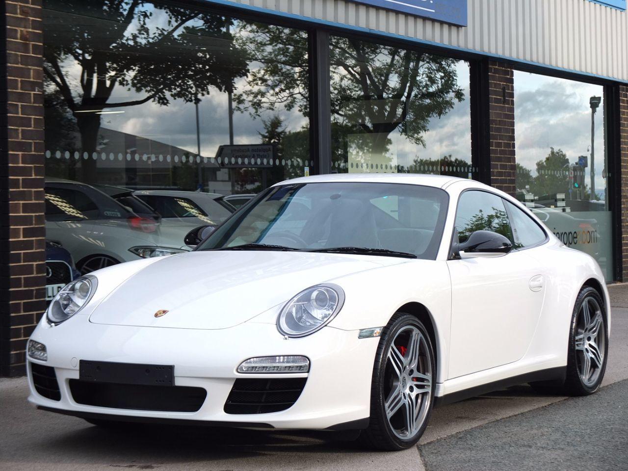 Porsche 911 3.8 997 Carrera 4S PDK Gen II Coupe Petrol Carrara WhitePorsche  911 3.8 997