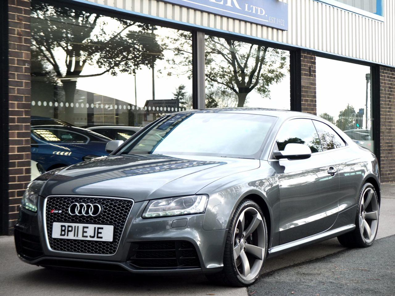 Audi RS5 4.2 FSI quattro S tronic Coupe Petrol Daytona Grey MetallicAudi RS5 4.2 FSI quattro S tronic Coupe Petrol Daytona Grey Metallic at fa Roper Ltd Bradford