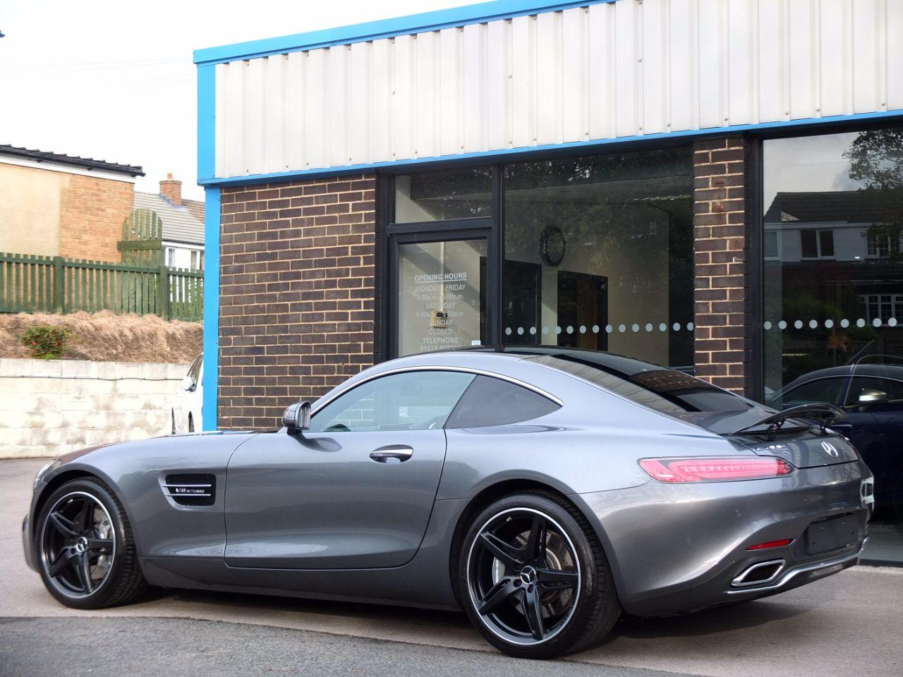 Mercedes-Benz AMG 4.0 GT Premium Speedshift DCT Auto Coupe Petrol Selenite Grey Metallic