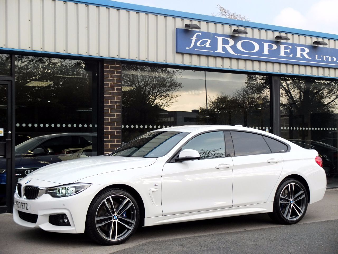 used bmw 4 series 420d xdrive gran coupe m sport plus pack auto 190ps for sale in bradford west. Black Bedroom Furniture Sets. Home Design Ideas
