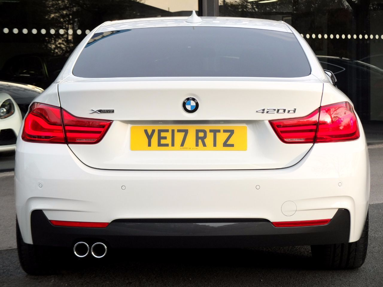 BMW 4 Series 2.0 420d xDrive Gran Coupe M Sport Plus Pack Auto 190ps Coupe Diesel Alpine White