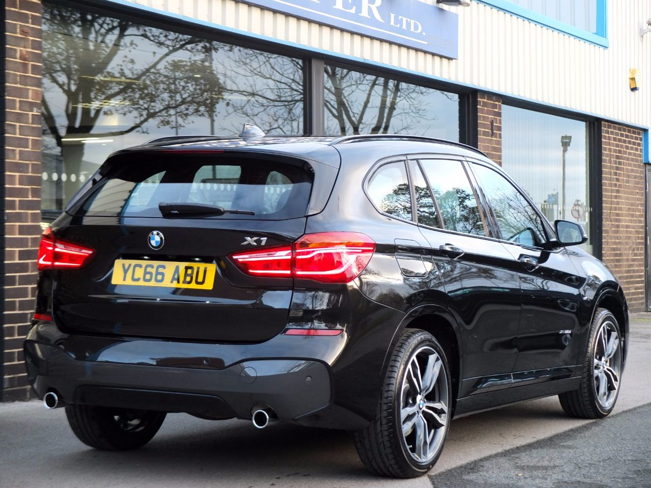 used bmw x1 xdrive 20d m sport step auto navigation plus pack 19in alloy wheels for sale in. Black Bedroom Furniture Sets. Home Design Ideas