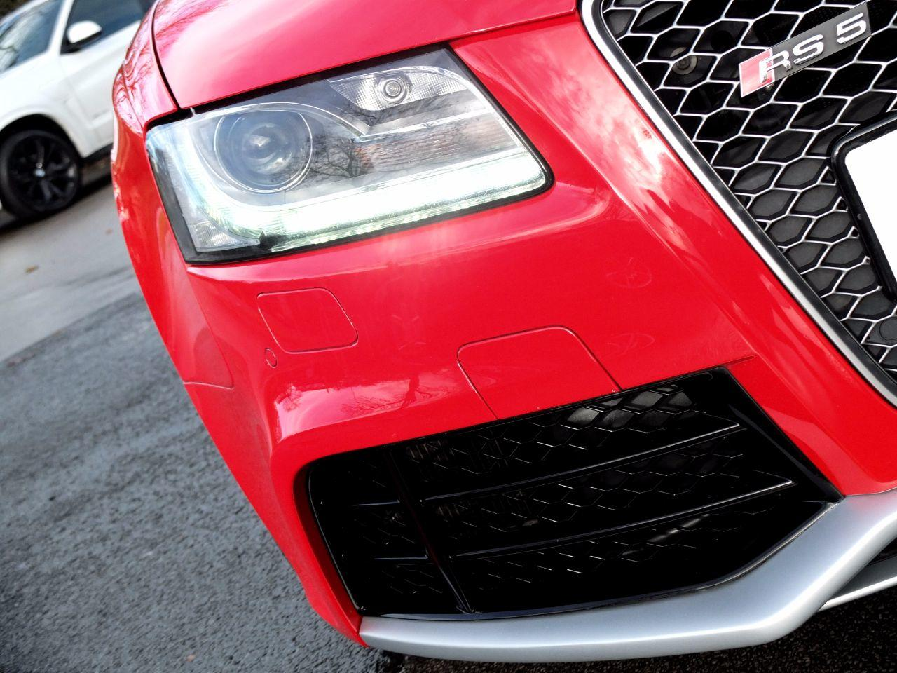 Audi RS5 4.2 FSI quattro (Bucket Seats, Miltek Exhaust, Tech Pack) Coupe Petrol Misano Red Pearl