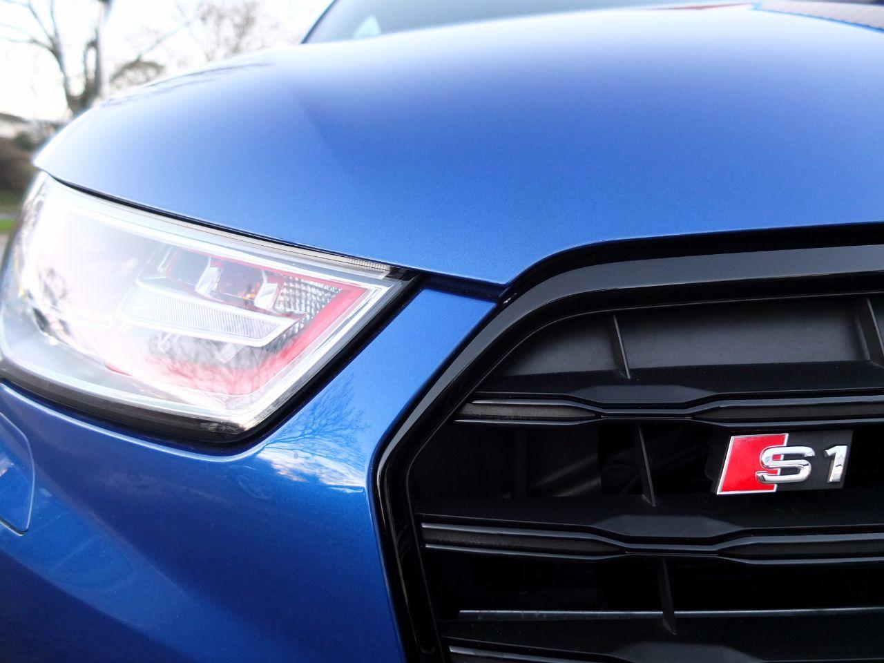 Audi A1 S1 2.0TFSI quattro 3 door 231ps Hatchback Petrol Sepang Blue Metallic