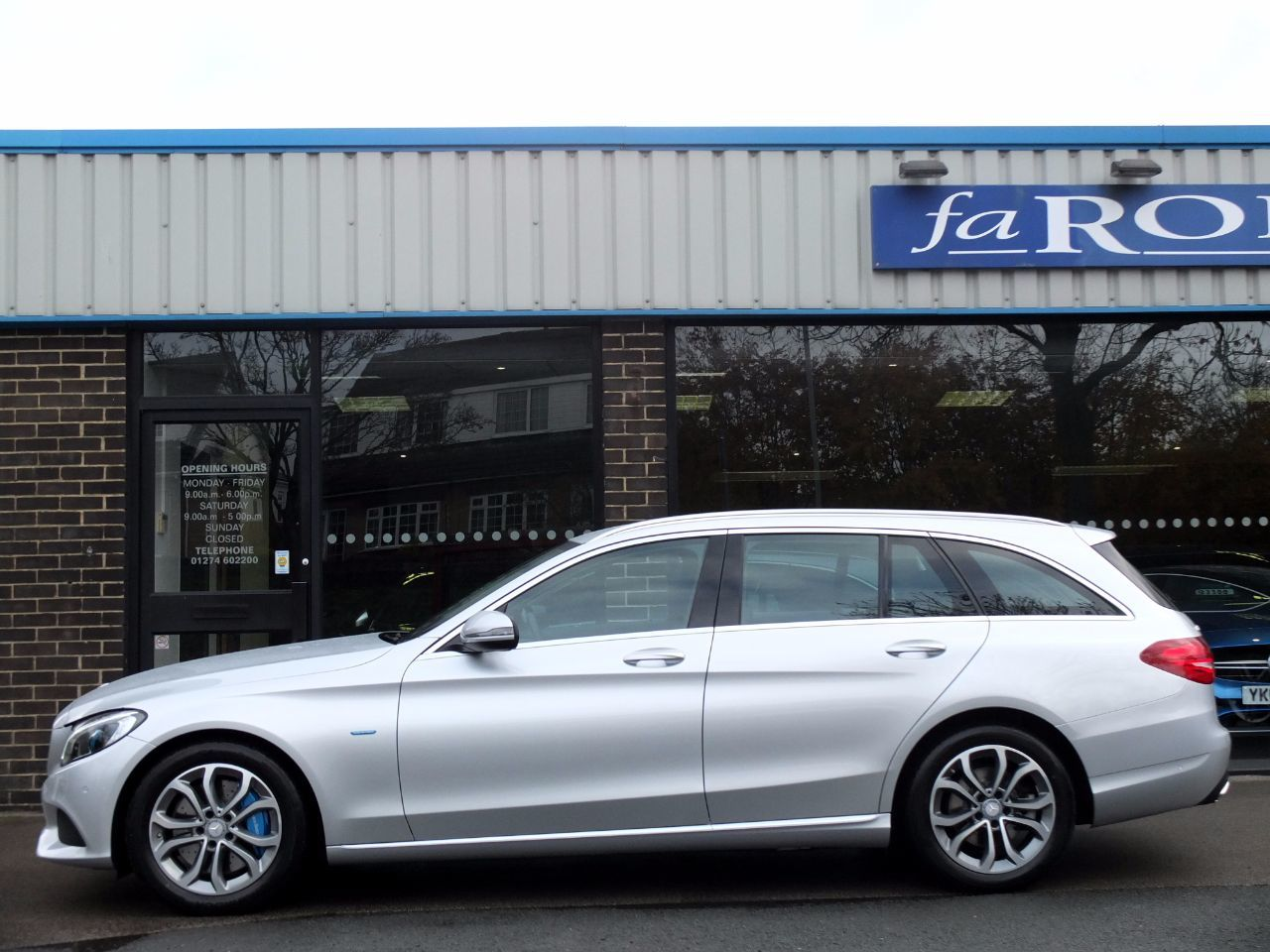 Mercedes-Benz C Class 2.0 C350e Sport PHEV (Electric Plug In Hybrid) Estate Auto Estate Hybrid Iridium Silver Metallic