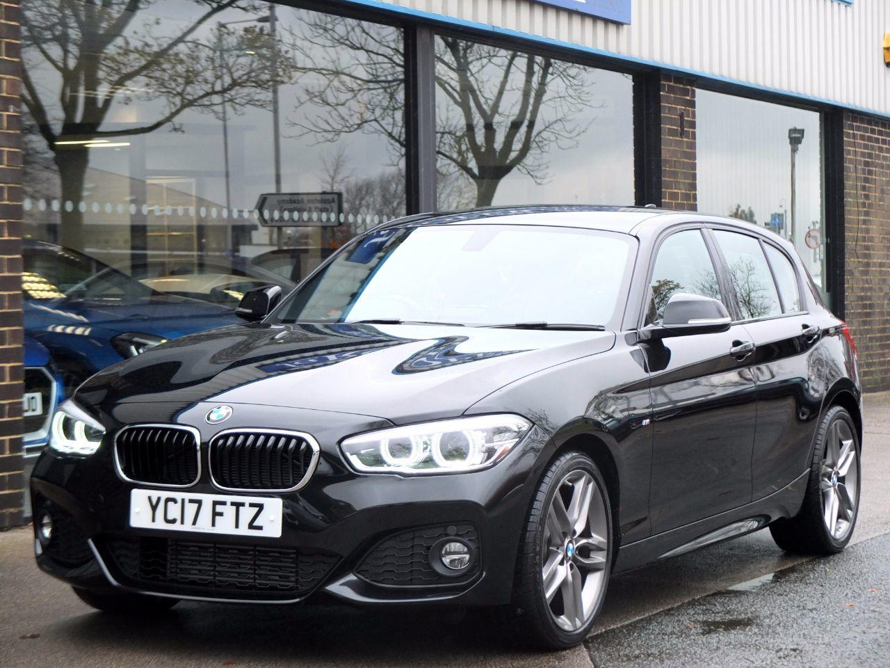 BMW 1 Series 2.0 125D M Sport 5 door Auto 224bhp Hatchback Diesel Sapphire Black MetallicBMW 1 Series 2.0 125D M Sport 5 door Auto 224bhp Hatchback Diesel Sapphire Black Metallic at fa Roper Ltd Bradford