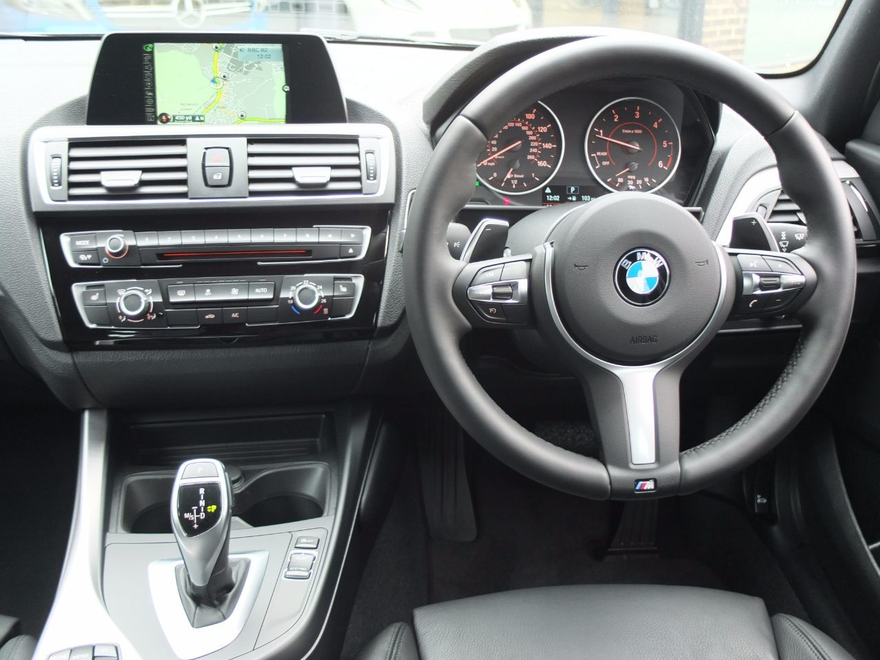 BMW 1 Series 2.0 125D M Sport 5 door Auto 224bhp Hatchback Diesel Mineral Grey Metallic