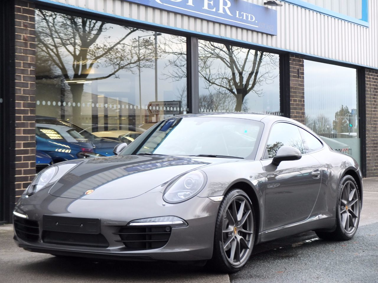 Porsche 911 991 Carrera 3.4 PDK Coupe Petrol Agate Grey MetallicPorsche 911 991 Carrera 3.4 PDK Coupe Petrol Agate Grey Metallic at fa Roper Ltd Bradford