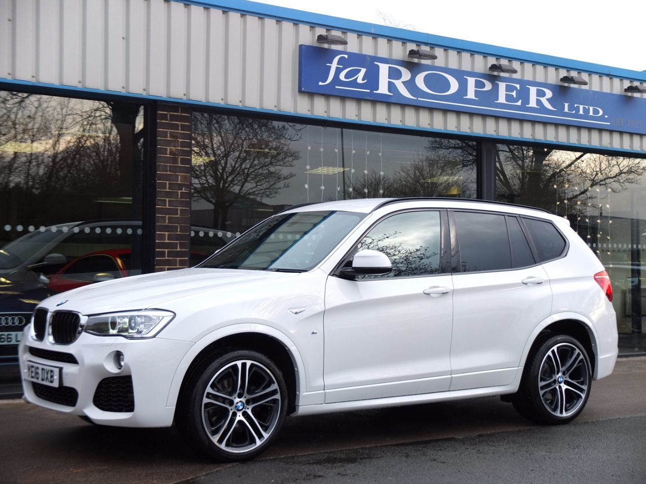 BMW X3 2.0 xDrive20d M Sport Plus Auto Estate Diesel Alpine White