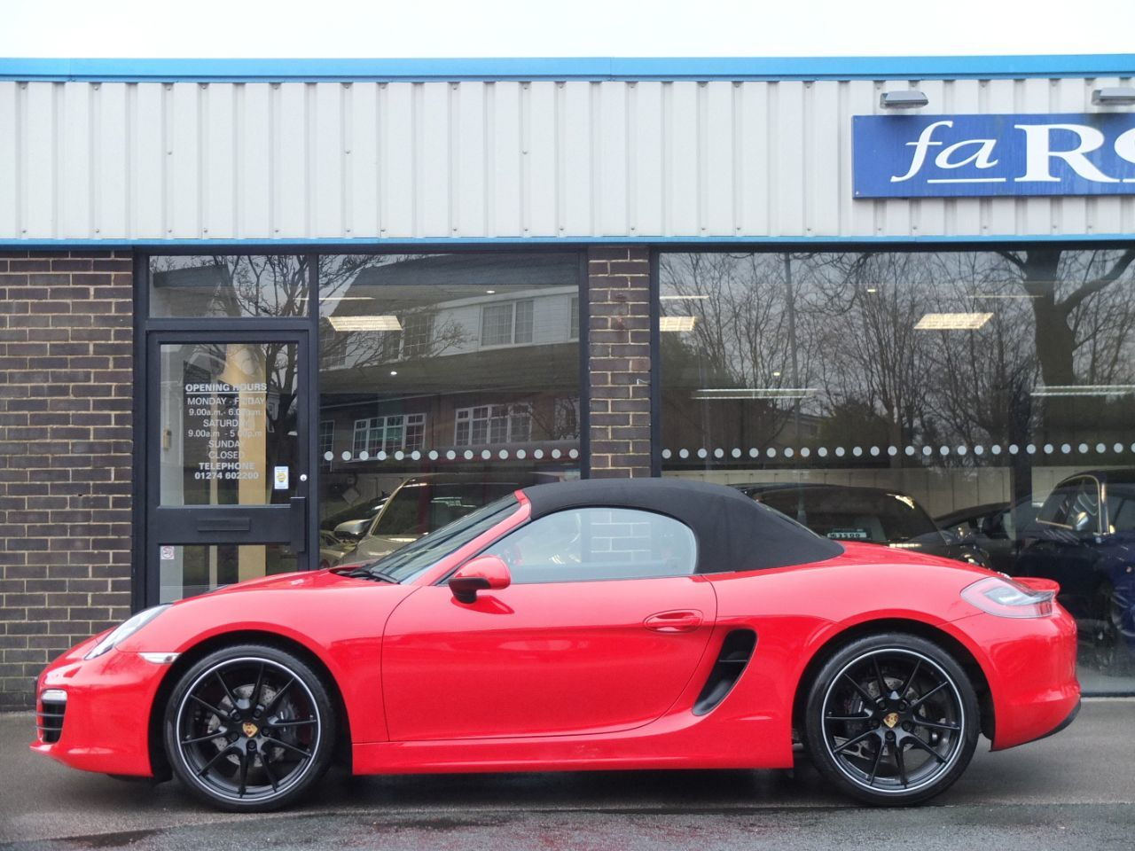 Porsche Boxster 2.7 PDK Convertible Petrol Guards Red