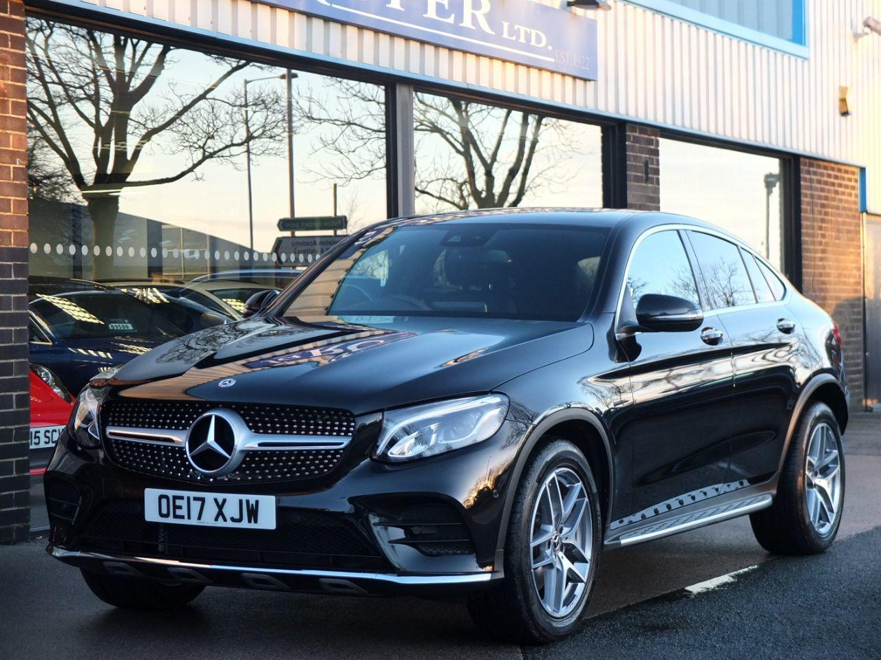 Mercedes-Benz GLC Coupe 3.0 350d 4Matic AMG Line Premium Plus 9G-Tronic Coupe Diesel Obsidian Black MetallicMercedes-Benz GLC Coupe 3.0 350d 4Matic AMG Line Premium Plus 9G-Tronic Coupe Diesel Obsidian Black Metallic at fa Roper Ltd Bradford