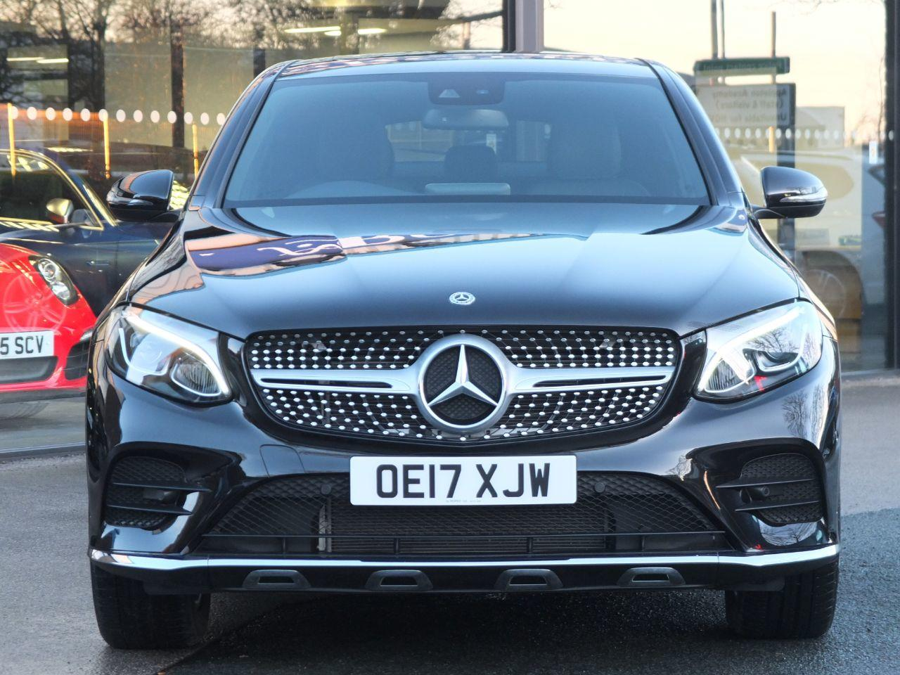 Mercedes-Benz GLC Coupe 3.0 350d 4Matic AMG Line Premium Plus 9G-Tronic Coupe Diesel Obsidian Black Metallic