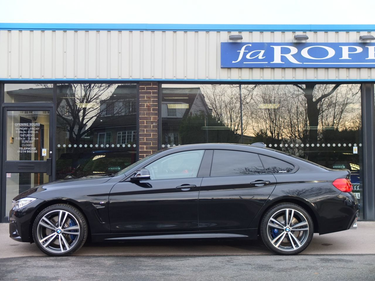 BMW 4 Series 3.0 435d xDrive Gran Coupe M Sport Plus Pack Auto Coupe Diesel Black Sapphire Metallic