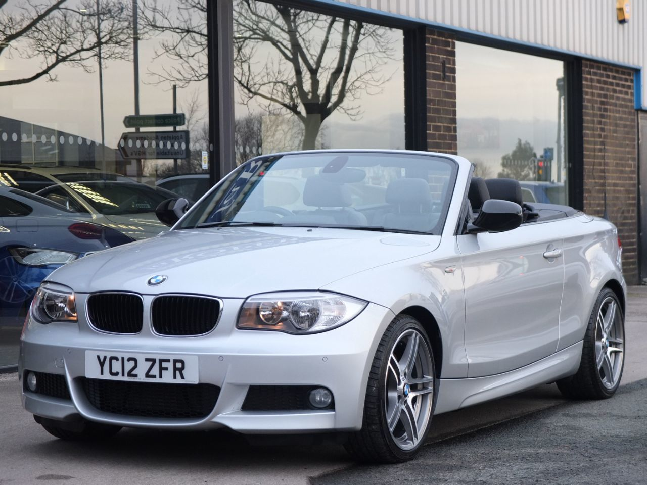 BMW 1 Series 2.0 123d Sport Plus Edition Cabriolet Convertible Diesel Titanium Silver MetallicBMW 1 Series 2.0 123d Sport Plus Edition Cabriolet Convertible Diesel Titanium Silver Metallic at fa Roper Ltd Bradford