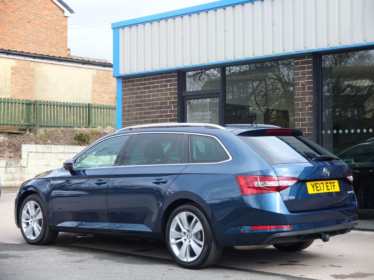 Skoda Superb Estate 1.4 TSI ACT 150ps SE L Executive DSG Auto Estate Petrol Petrol Blue Metallic