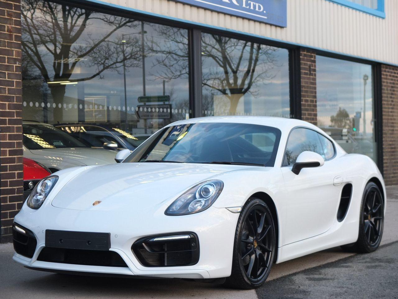 Porsche Cayman 2.7 PDK Sport Design Coupe Petrol Carrara White MetallicPorsche Cayman 2.7 PDK Sport Design Coupe Petrol Carrara White Metallic at fa Roper Ltd Bradford